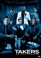 Takers - DVD movie cover (xs thumbnail)