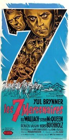The Magnificent Seven - French Movie Poster (xs thumbnail)
