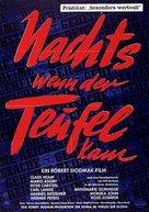 Nachts, wenn der Teufel kam - German Movie Poster (xs thumbnail)