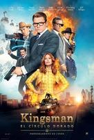 Kingsman: The Golden Circle - Spanish Movie Poster (xs thumbnail)
