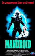 Mandroid - German VHS cover (xs thumbnail)