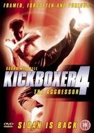 Kickboxer 4: The Aggressor - British DVD movie cover (xs thumbnail)