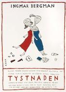 Tystnaden - Czech Movie Poster (xs thumbnail)