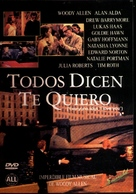 Everyone Says I Love You - Argentinian DVD movie cover (xs thumbnail)