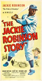 The Jackie Robinson Story - Movie Poster (xs thumbnail)