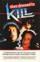 She's Dressed to Kill - Swedish Movie Cover (xs thumbnail)