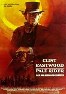 Pale Rider - German Movie Poster (xs thumbnail)