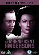 The Magnificent Ambersons - British DVD movie cover (xs thumbnail)