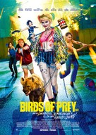 Harley Quinn: Birds of Prey - Swedish Movie Poster (xs thumbnail)