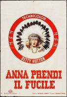 Annie Get Your Gun - Italian Movie Poster (xs thumbnail)