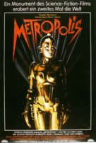 Metropolis - German Re-release movie poster (xs thumbnail)