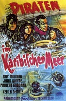 Reap the Wild Wind - German Movie Poster (xs thumbnail)