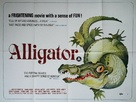 Alligator - British Movie Poster (xs thumbnail)