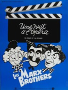 A Night at the Opera - French Movie Poster (xs thumbnail)
