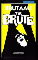 The Brute - Finnish VHS movie cover (xs thumbnail)