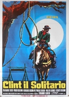Clint el solitario - Italian Movie Poster (xs thumbnail)