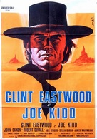 Joe Kidd - Italian Movie Poster (xs thumbnail)
