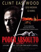 Absolute Power - Spanish Movie Poster (xs thumbnail)