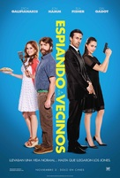 Keeping Up with the Joneses - Colombian Movie Poster (xs thumbnail)