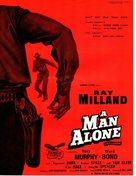 A Man Alone - British Movie Poster (xs thumbnail)