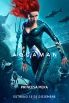 Aquaman - Chilean Movie Poster (xs thumbnail)