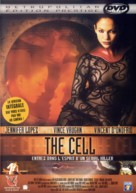 The Cell - French DVD movie cover (xs thumbnail)