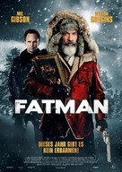Fatman - German Movie Poster (xs thumbnail)