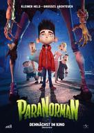 ParaNorman - German Movie Poster (xs thumbnail)