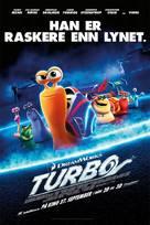 Turbo - Norwegian Movie Poster (xs thumbnail)