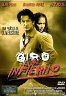 U Turn - Spanish DVD movie cover (xs thumbnail)