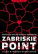 Zabriskie Point - Polish Movie Poster (xs thumbnail)