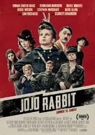 Jojo Rabbit - Danish Movie Poster (xs thumbnail)