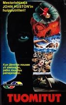 Phobia - Finnish VHS movie cover (xs thumbnail)