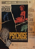 Psycho - French Movie Poster (xs thumbnail)