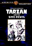 Tarzan and the She-Devil - DVD movie cover (xs thumbnail)
