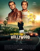 Once Upon a Time in Hollywood - French Movie Poster (xs thumbnail)