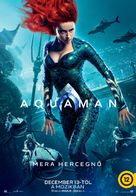Aquaman - Hungarian Movie Poster (xs thumbnail)