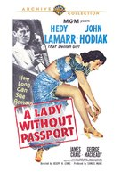 A Lady Without Passport - DVD cover (xs thumbnail)