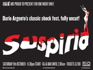 Suspiria - British Movie Poster (xs thumbnail)