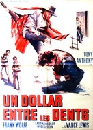 Un dollaro tra i denti - French Movie Poster (xs thumbnail)