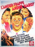Love Finds Andy Hardy - French Movie Poster (xs thumbnail)