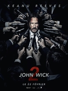 John Wick: Chapter Two - French Movie Poster (xs thumbnail)