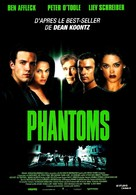 Phantoms - French Movie Poster (xs thumbnail)