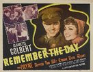 Remember the Day - Movie Poster (xs thumbnail)