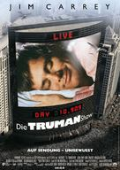 The Truman Show - German Movie Poster (xs thumbnail)