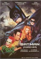 Batman Forever - German Movie Poster (xs thumbnail)