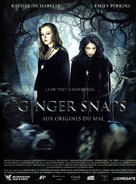 Ginger Snaps Back: The Beginning - French DVD cover (xs thumbnail)