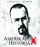 American History X - Hungarian Blu-Ray movie cover (xs thumbnail)