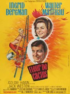 Cactus Flower - French Movie Poster (xs thumbnail)
