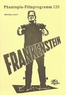 Frankenstein - German poster (xs thumbnail)